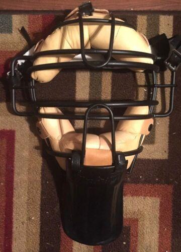 Umpire Baseball Helmet, Chest Protector. Leg Pads, + More Gear
