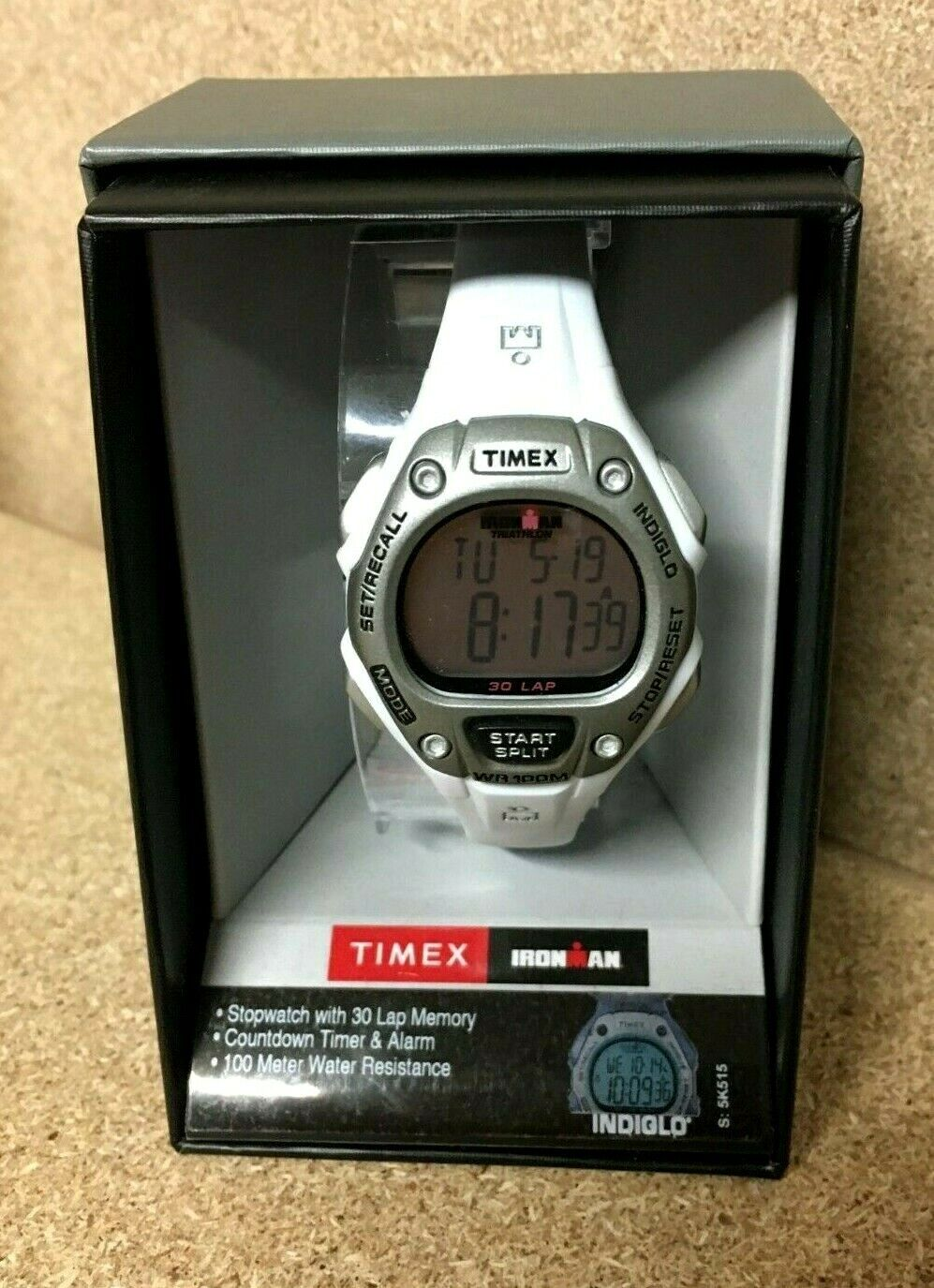Timex Ironman Womens Digital Sport Watch 30 Lap Timer Alarm