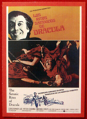 HAMMER HORROR - Series 2 - Card #136 - Satanic Rites Of Dracula - Joanna Lumley