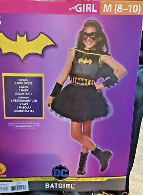 New Batgirl Costume Youth Medium 8/10 Rubies Halloween Costume Tutu - Batgirl Tutu