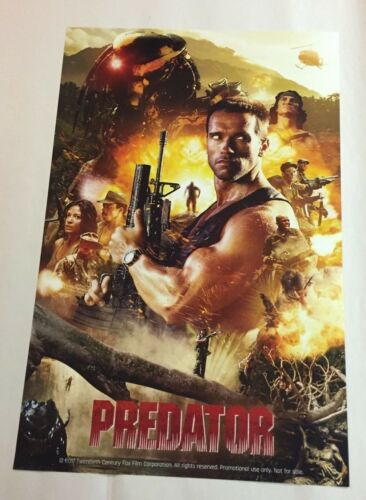 SDCC 2017 EXCLUSIVE PROMO PRINT PREDATOR CLASSIC POSTER APPROX 11 X17 INCHES