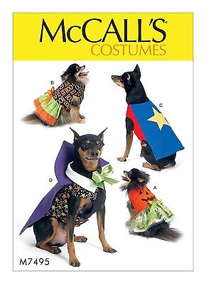 SEWING PATTERN! MAKE DOG COSTUMES! SUPERHERO~VAMPIRE~PUMPKIN~DRESS~SMALL~X-LARGE - Make Costumes