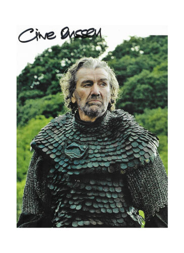 """8x10"""" Game of Thrones Print Signed by Clive Russell 100% Authentic + COA"""