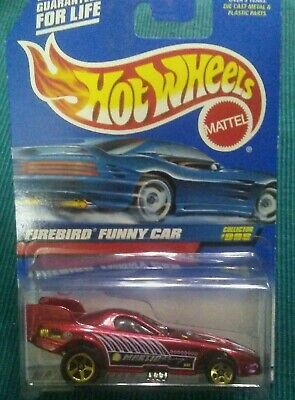 Hot Wheels 1999 Firebird Funny Car #998 NIP