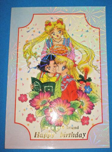 Sailor Moon Birthday Card (m)