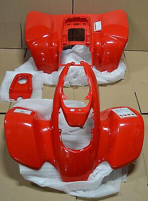 HONDA 400EX FENDERS BRAND NEW GENUINE HONDA!! 1999-2004 PLASTICS RED FRONT REAR