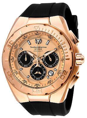 TechnoMarine TM-115346 Cruise Steel 45mm Rose Gold Watch
