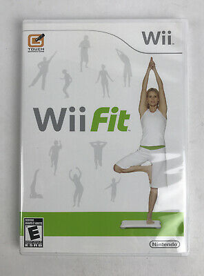 Nintendo Wii Fit Exercise Fitness Workout Cardio Yoga Balance Game FAST Shipping