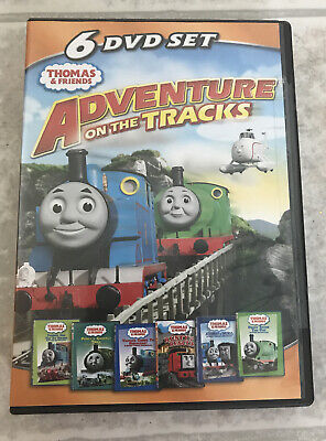 Thomas and Friends Adventure on the Tracks 6 DVD Set Thomas Tank Engine Train