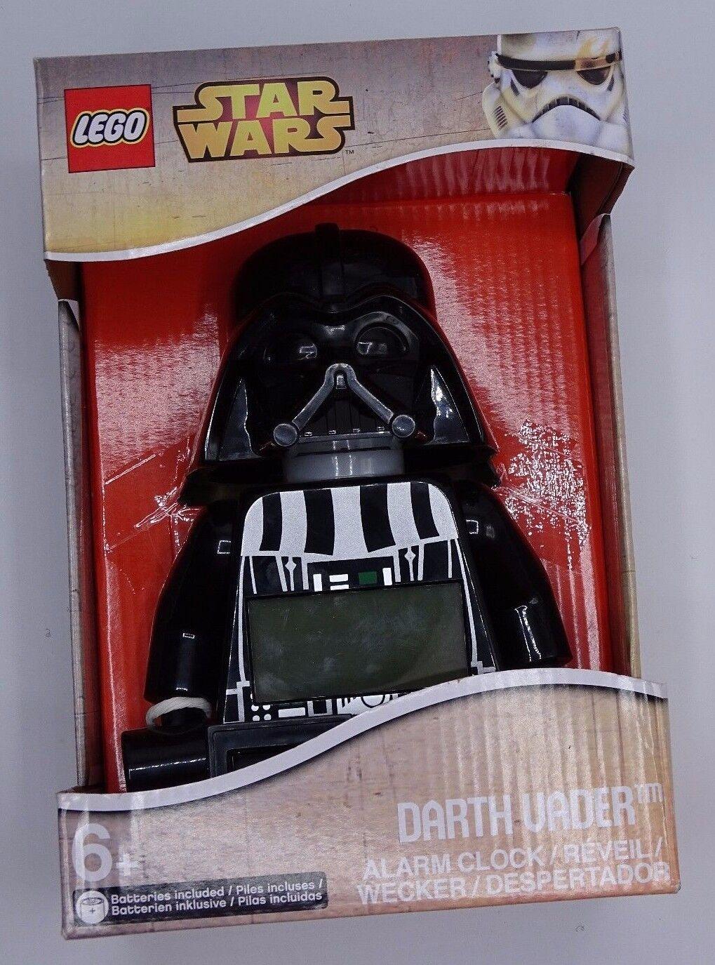 NEW LEGO Disney Star Wars Darth Vader Kids Poseable Mini-figure Alarm Clock NEW