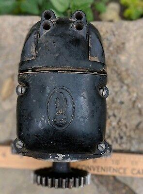 Vintage Ji Case Magneto Tractor