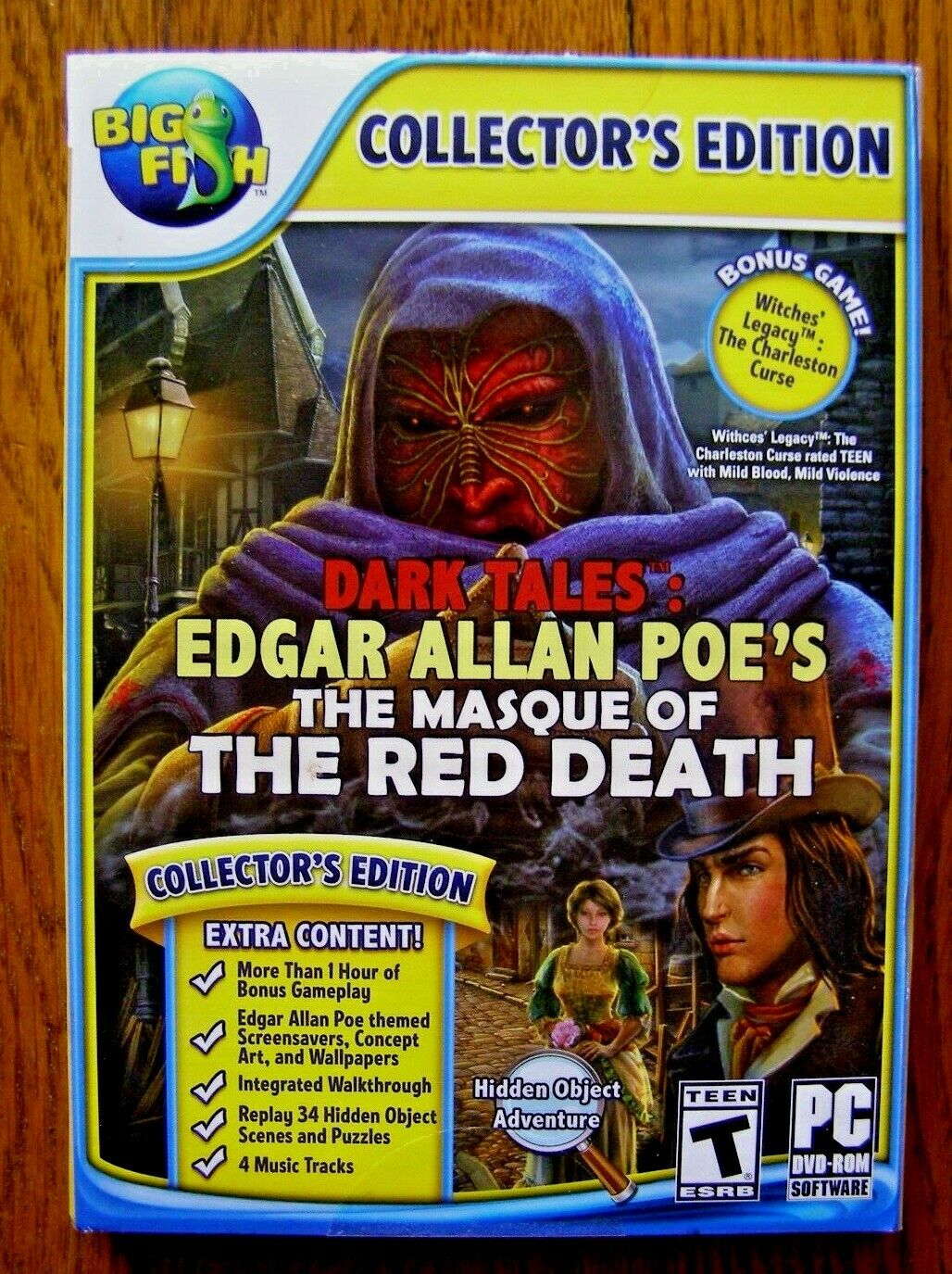 Dark Tales Edgar Allan Poe The Masque Of The Red Death PC Free Shipping - $7.00
