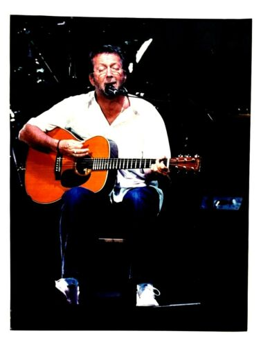 2004 Eric Clapton Original Concert Photo Toronto Air Canada Centre 8 x 10