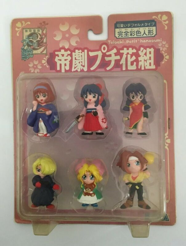 Sakura Wars Anime Chibi Mini Figures Sega 1996