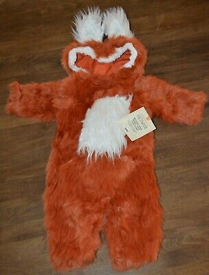 Pottery Barn Kids Woodland Baby Fox Halloween Costume 6-12 Months NEW Cute!