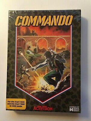 Commando ( Atari 2600/7800 - Activision) Nuevo Precintado en Caja