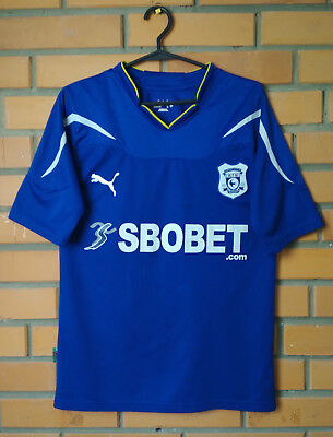 Cardiff City Jersey 2010 2011 Home S Shirt Puma Football Soccer Trikot Maglia image