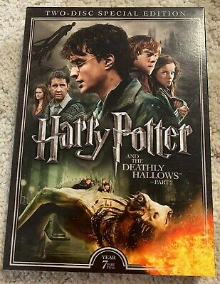 Harry Potter and the Deathly Hallows Part II 2 (2-Disc Special Edition, DVD) NEW
