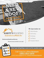 Asphalt shingle re roofing or new roofs