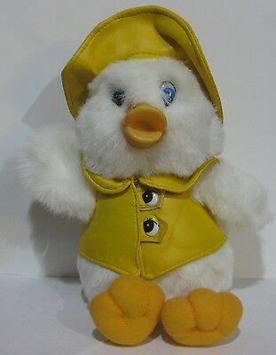 Stofftier Plüschtier Kuscheltier Ente mit Hut und Weste gelb