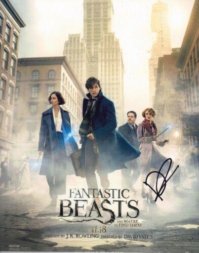 David Yates Signed 10X8 Photo Fantastic Beasts & Where to Find Them COA (5178)