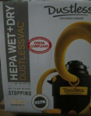 Dustless Technologies-d1606 Dustless Hepa 16 Gal Wetdry Vacuum