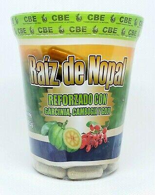 Raiz de Nopal Garcinia Cambogia Goji Nopal root 150 capsules for weight loss