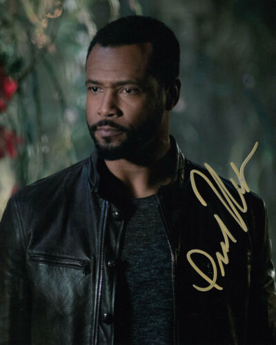 ISAIAH MUSTAFA SHADOWHUNTERS SIGNED 10X8 PHOTO AFTAL & UACC [14734] IN PERSON