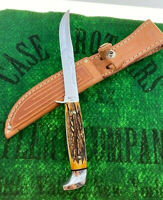case xx STAG 516-5 fixed blade knife 1965-1969 USA era 99% MINT unused sweet