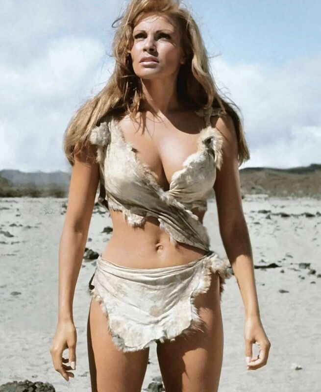 Racquel Welch - In The Cave Women Suit !!!  Smokin Body !!!