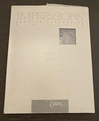 Vintage Eaton Impressions Premiere Typewriter Paper Heavyweight Slate Blue