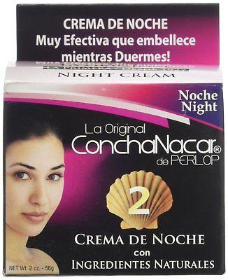 Concha Nacar De Perlop #2 Night Cream   Crema de Noche Natural   2 Ounce