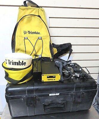 Trimble Dgps Gps Receiver V1.52 Pn 38073-11 Wantenna And Case