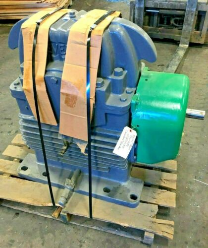 CLEVELAND WORM GEAR SPEED REDUCER 100HAF SER 25 22.8 HP 33.09:1 RATIO 1200 RPM