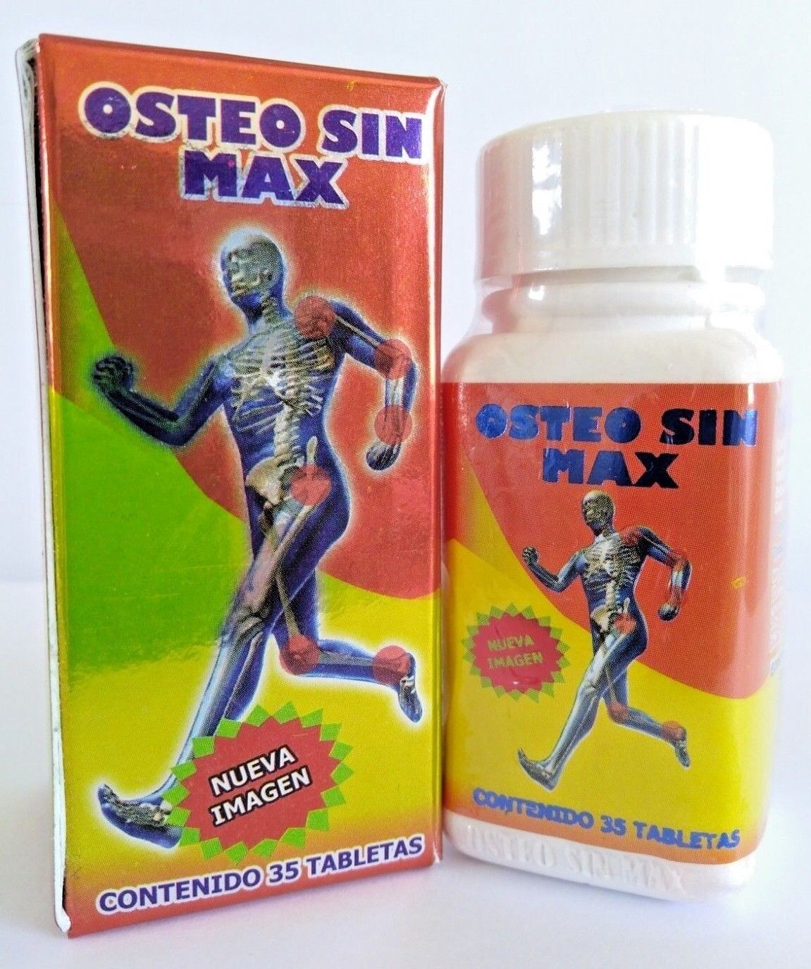 OSTEO SIN MAX 100% ORIGINAL ARTHRITIS JOINT PAIN ARTRITIS OSTEOPOROSIS AUTHENTIC