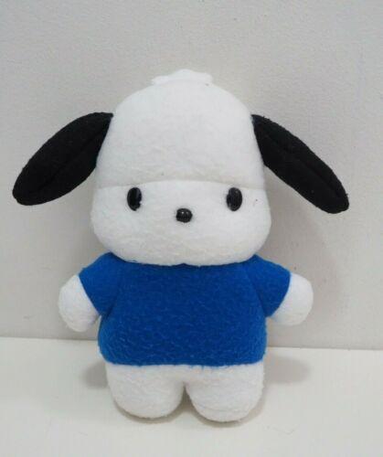 "Pochacco Blue Sanrio Eikoh 1998 Plush 8"" Stuffed Toy Doll japan"