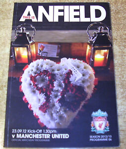 2012/13 PREMIER LEAGUE - LIVERPOOL v MANCHESTER UNITED (HILLSBOROUGH TRIBUTE)
