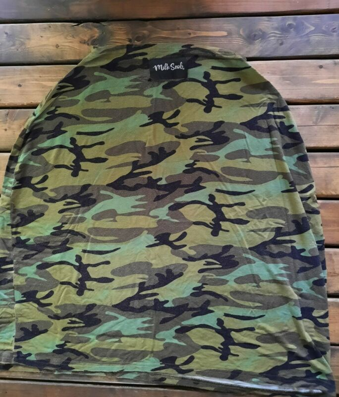 EUC Milk Snob Army Military Camouflage Nursing/Baby Carrier Cover