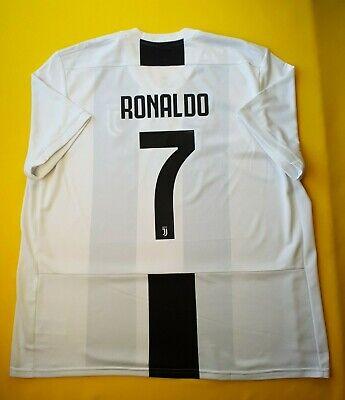 3327b87236e 5+ 5 Ronaldo Juventus jersey 2XL 2019 home shirt CF3489 soccer Adidas ig93
