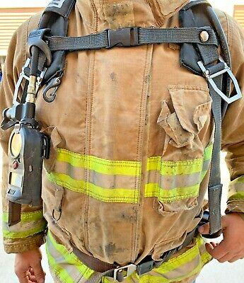 Msa Frame Harness Scba Air Pack Bottle Cylinder Tank Holder Firefighting Gear
