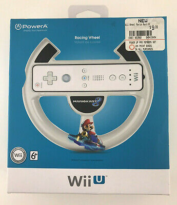 PowerA Steering Racing Wheel Mario Kart 8 Racing Wii U Nintendo
