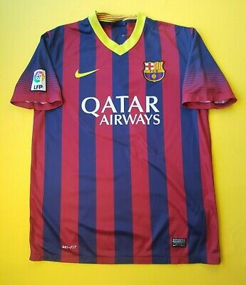 78e896636 Barcelona jersey medium 2013 2014 home shirt 532822-413 soccer Nike ig93 5 5