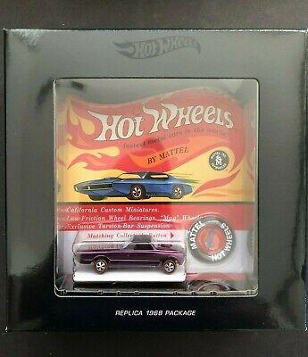 Hot Wheels Original 16 Redline Spectraflame Purple 1968 Replica Custom Fleetside