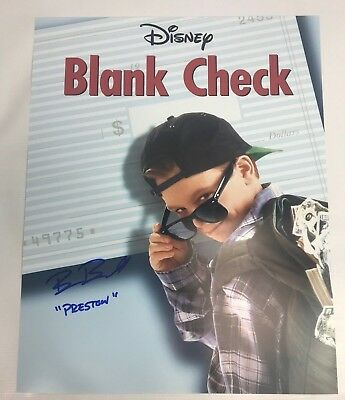Brian Bonsall Signed 16X20 Photo Authentic Autograph Disney Blank Check Coa 1
