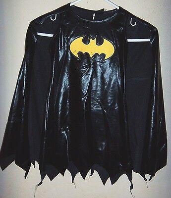 All Black Halloween Costumes For Girls (girls size small NEW NWOT black BATMAN HALLOWEEN COSTUME DRESS CAPE 1 pc all)