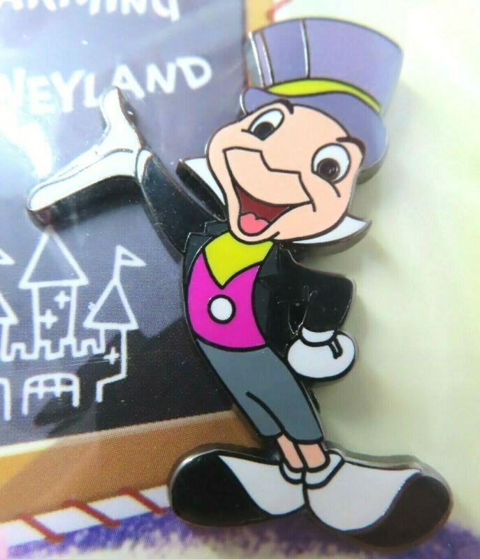 Disney Pin Dateline DLR 1955 Art Corner Postcard Jiminy Cricket LE 1000 #76427