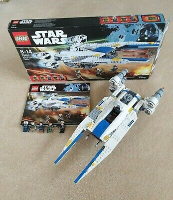LEGO Star Wars Rebel U-Wing Fighter (75155). All figures, weapons are included