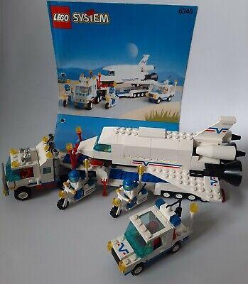 LEGO 6346 Shuttle Launching Crew Shuttle Transporter komplett mit BA Vintage