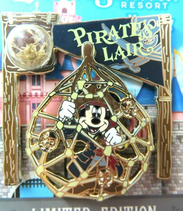 Disney Pin DLR - Piece of Disney History 2017 - Pirate