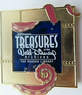 Disney Pin * D23 Walt Disney Archives MSI Chicago 20,000 Leagues LE 500 #99437